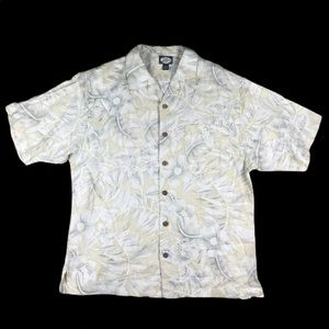 Tommy Bahama Button Front Shirt Short Sleeve L